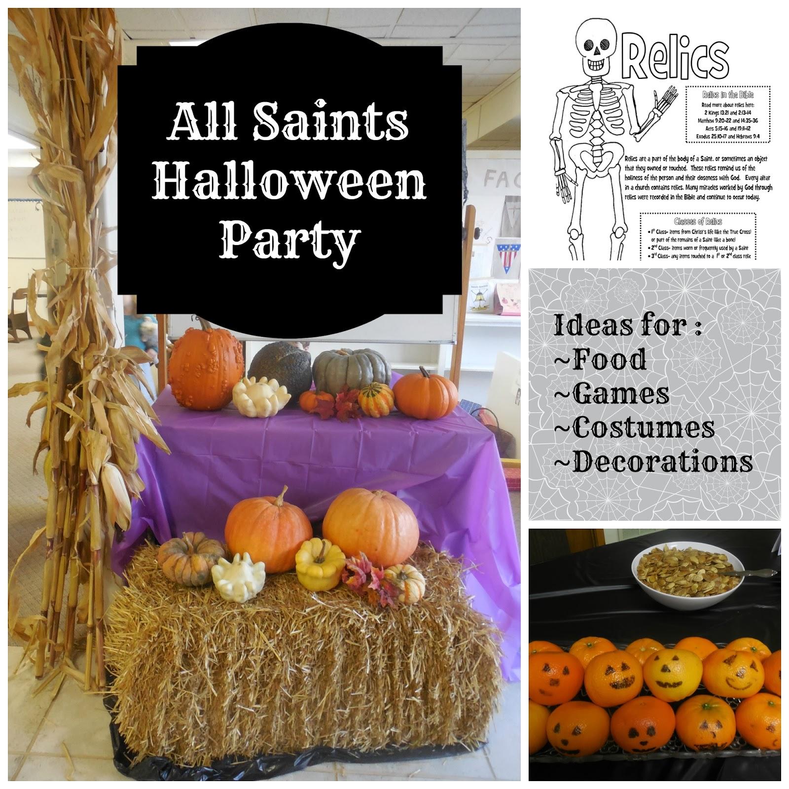 All Saints' Halloween party