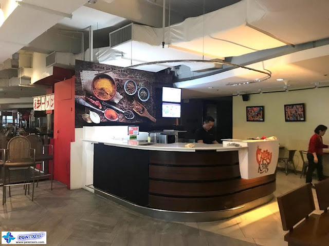 Restaurant Mural Stickers & Logo Prints - Curry King