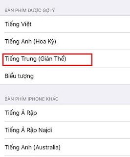 Viết tiếng Trung trên điện thoại