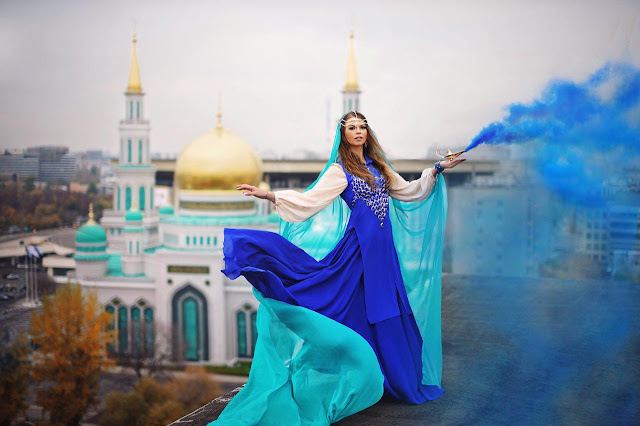 My dress stories фотосессии в платьях в разных уголках мира фотопроект блогера Ninelly