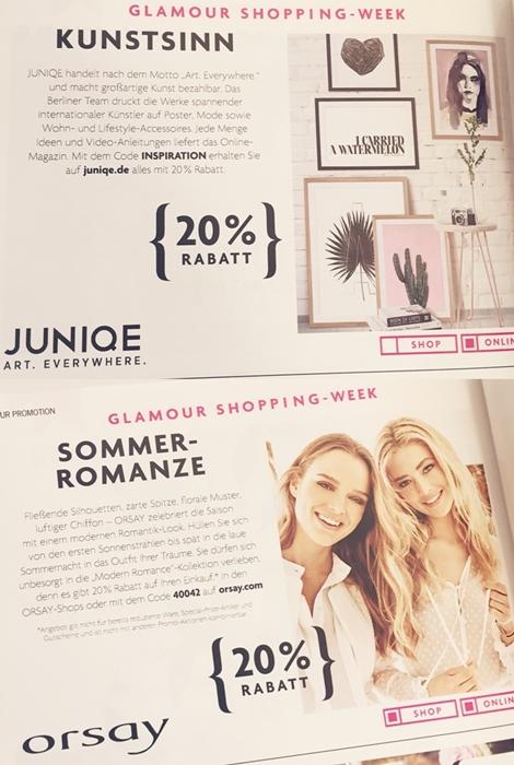 flaconi glamour shopping week code