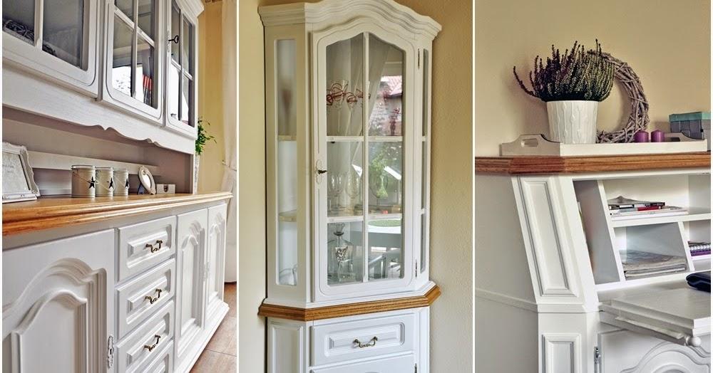 simply about home Jak pomalowa drewniane meble na biao DIY