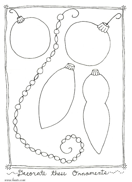 Download Coloring Pages Coloring Pages Of Ornaments Christmas Ornament  Coloring Pages Printable Download Printable Free