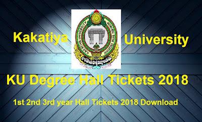 Manabadi KU Degree Hall Tickets 2018 Download, Schools9 KU UG Hall Tickets 2018