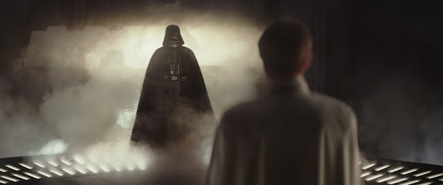 Darth Vader Emerging from the Mists