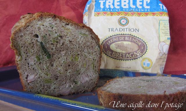 Cake à l'andouille et aux poireaux: Breizh Cake