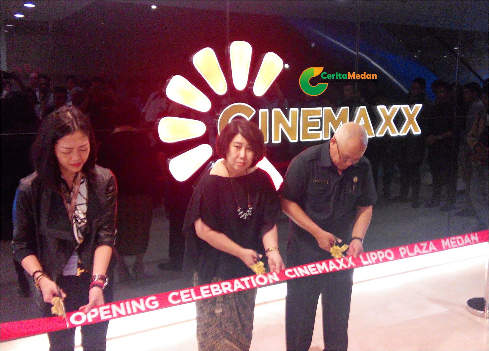 Bioskop Cinemaxx Resmi Dibuka di Medan