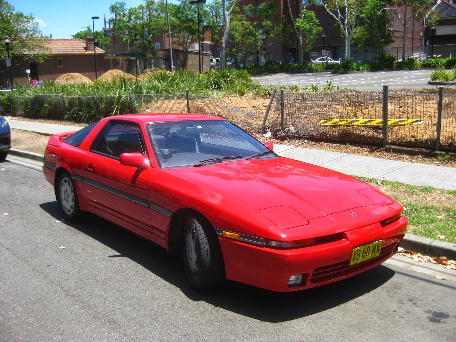 aussie old parked cars 1989 toyota supra turbo. Black Bedroom Furniture Sets. Home Design Ideas