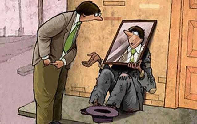 Resultado de imagem para o senhor e o mendigo