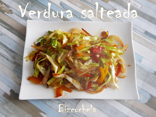 VERDURAS SALTEADAS ESTILO ASIATICO