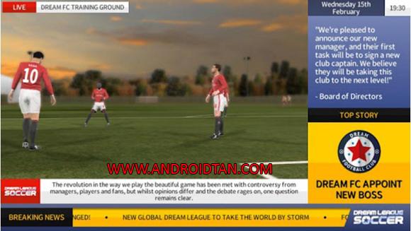 Dream League Soccer 2017 Mod Apk + Data Money Coins
