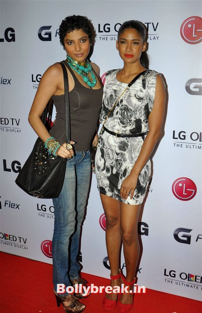Carol Gracias, Celebs at LG G Flex Smartphone Launch