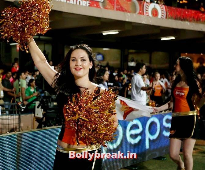 Sunrisers Hyderabad cheerleaders perform, Which team has the sexiest cheerleaders in the IPL 7