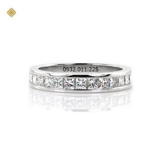 Nhẫn nữ kim cương thiết kế dương đại