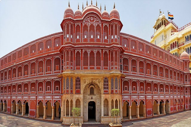 City Palace in Jaipur, Rajasthan  IMAGES, GIF, ANIMATED GIF, WALLPAPER, STICKER FOR WHATSAPP & FACEBOOK