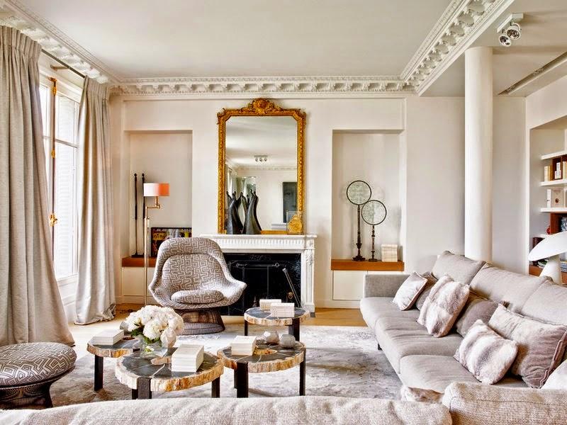 Decor Inspiration Paris Apartment Interiors Cool Chic