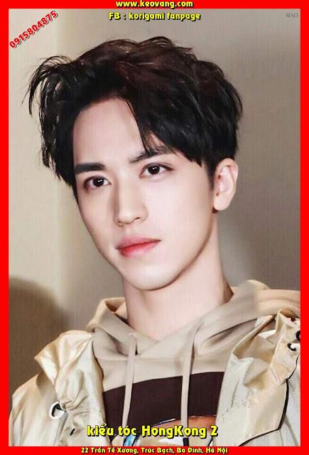 Ngắm những kiểu tóc HongKong của nam chính Thượng Ẩn Bạch Lạc Nhân - Hứa Ngụy Châu