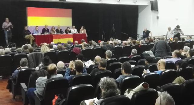 Intervención del portavoz de Al Servicio de la República, Pedro A. García Bilbao en el Encuentro Estatal por la República