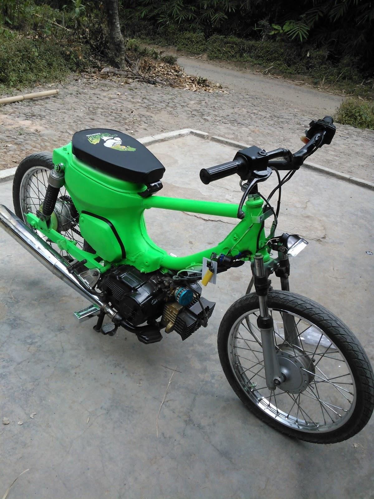 Gambar Modifikasi Motor Suzuki Bravo Wacana Modif Motor