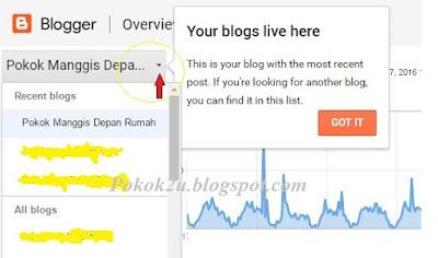 Paparan Senarai Blog Jadi Lebih Mudah