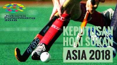 Keputusan Hoki Sukan Asia 2018