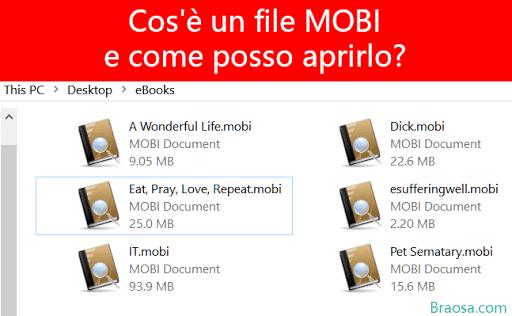 Cos'è un file MOBI e come posso aprirlo?