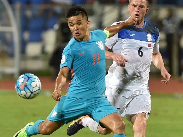 Asian Cup qualifier: Chhetri strike seals India's 1-0 win over Kyrgyz Republic