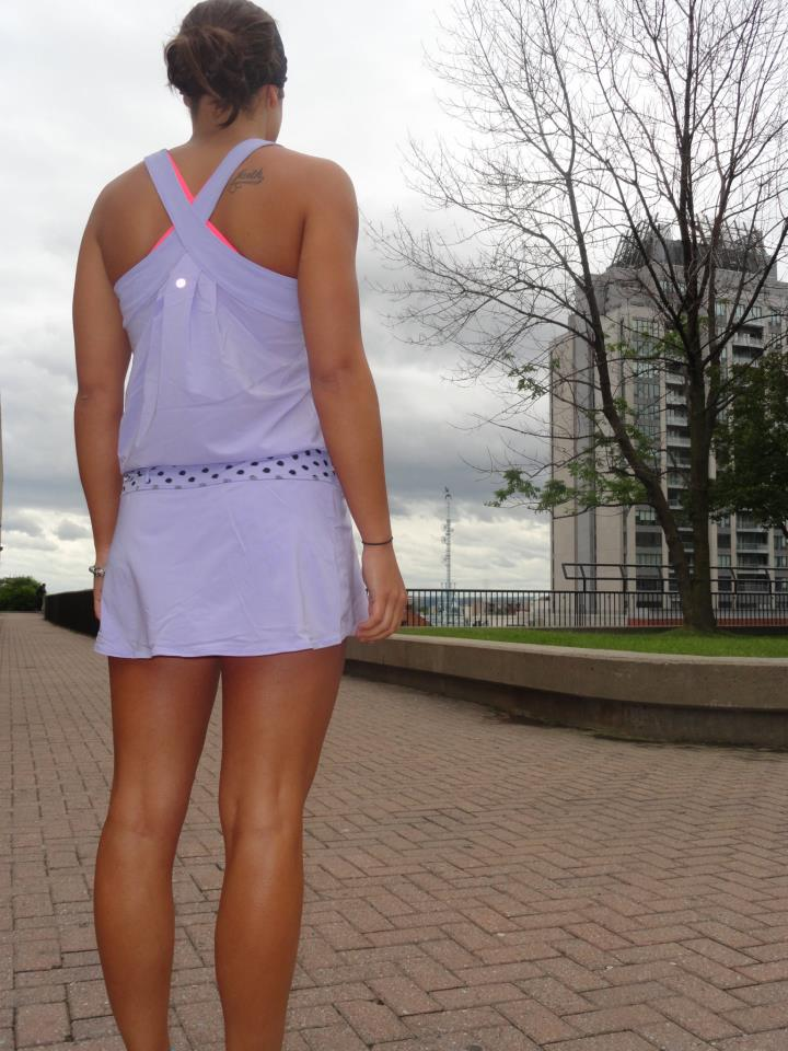 85adda73c180 Run For Your Money Jumper with built in shorts. I like the lilac one.