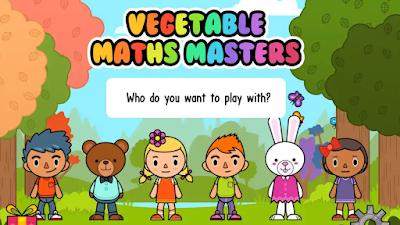 تحميل تطبيق Vegetable Maths Masters جديد يشجّع الأطفال على تناول الخضروات يوميًا الأندرويد و الأيفون  في حين تجابه