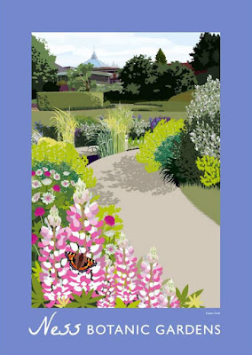 Jane Crick design for Ness Botanic Gardens
