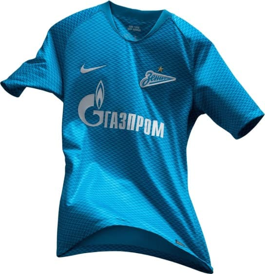FCゼニト・サンクトペテルブルク 2018-19 ユニフォーム-ホーム