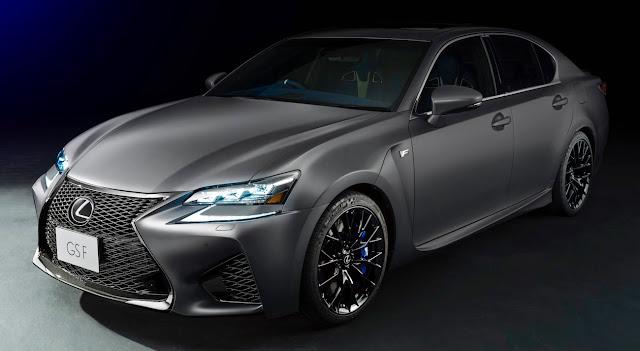 レクサスの高性能モデル「F」の誕生10周年を記念した「GS F」「RC F」の特別モデル「F 10th Anniversary」が限定で登場!