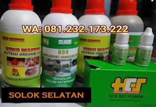 Jual SOC HCS, KINGMASTER, BIOPOWER Siap Kirim Solok Selatan Padang Aro