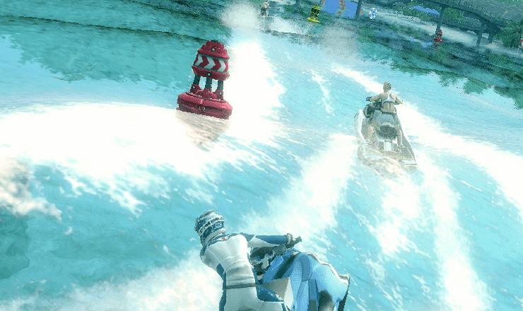 تحميل لعبة سباق الموتوسيكلات المائية aqua moto racing utopia