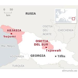 Siria reconoce la independencia de Abjasia y Osetia del Sur