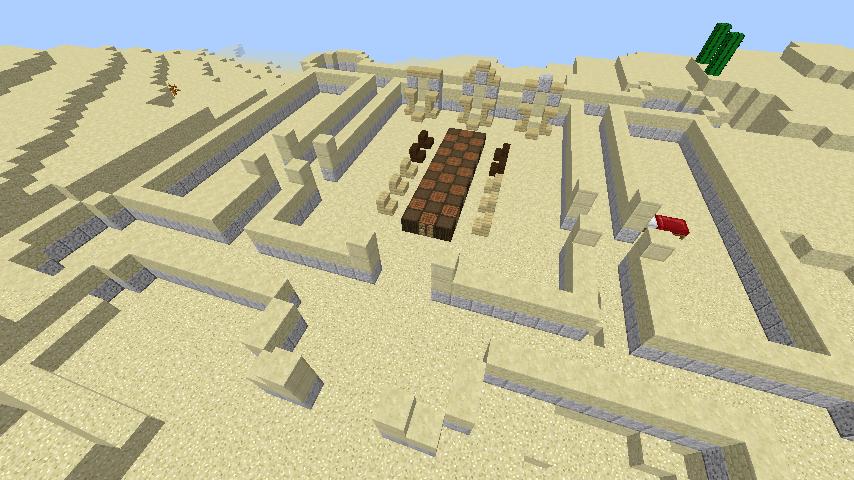 MINECRAFTBLOG: Castle & Command Blocks in MINECRAFT