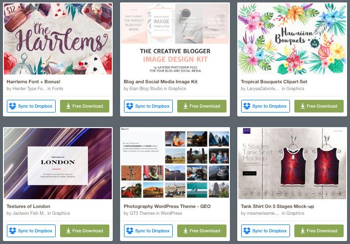 regalos recursos creative market
