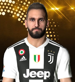PES 2017 Faces Gonzalo Higuain by Facemaker Ahmed El Shenawy