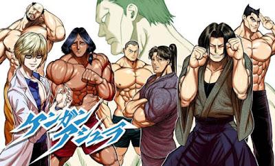 Confirmada la adaptación anime de Kengan Ashura