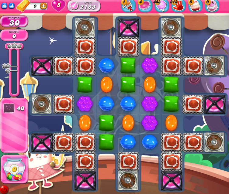 Candy Crush Saga level 2183
