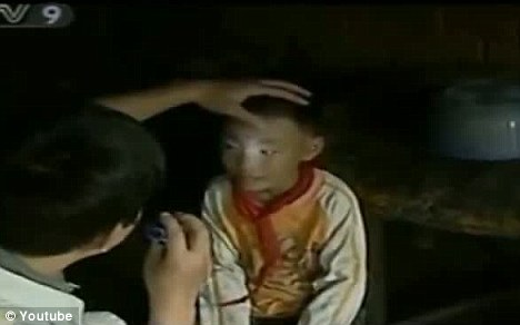 Chinese Boy Can See In The Dark, Is He A Mutant Or Alien Hybrid?
