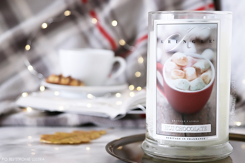 hot chocolate kringle candle