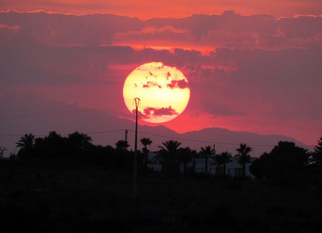Las mejores puestas de sol en Santa Pola