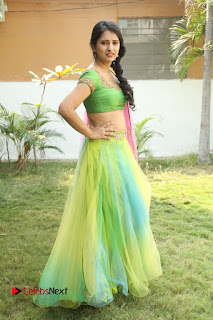 Actress Nikitha Bisht Stills in Lehenga Choli at Pochampally Ikat Art Mela Launch  0423.JPG