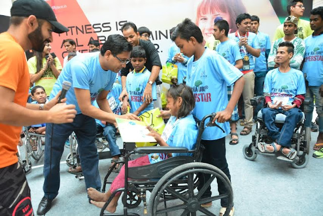 DLF Place, Saket organised a fitness event for differently abled enthusiasts, titled 'Superstars'