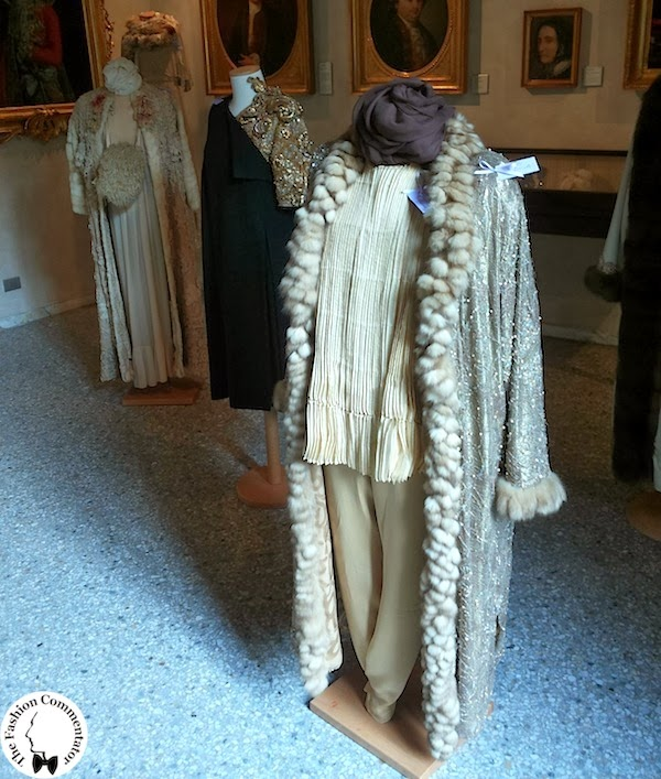 Valentina Cortese - Mostra Milano - Winter dresses in the second room of the exhibition