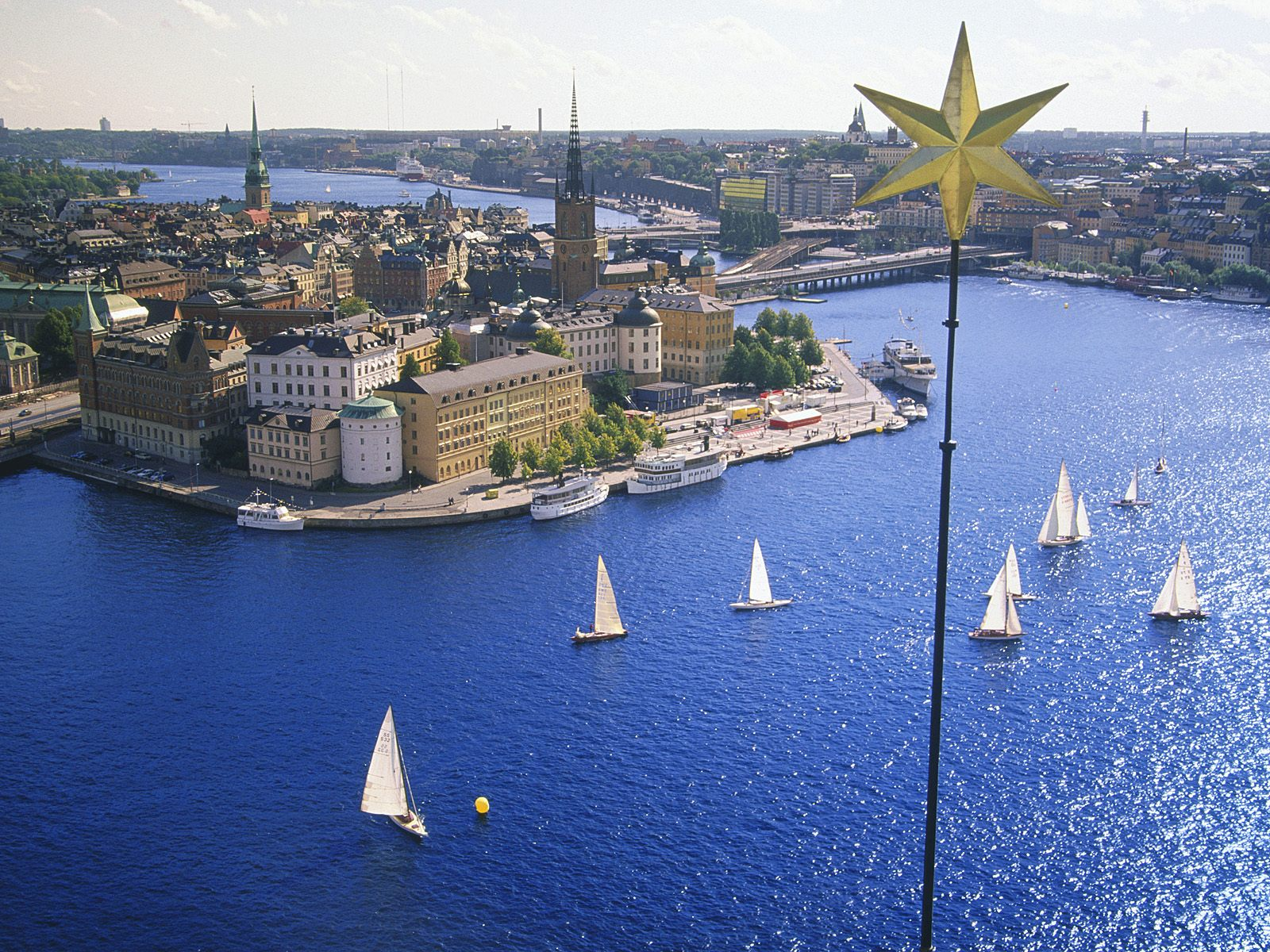 Stockholm Sweden Nice View 2011   Travel And Tourism