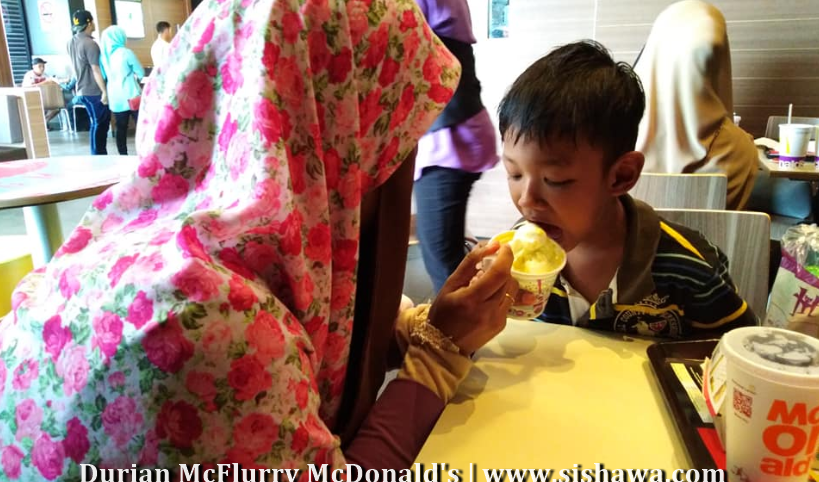 Jom Sertai All-You-Can-Eat D24 Durian McFlurry - McDonald's