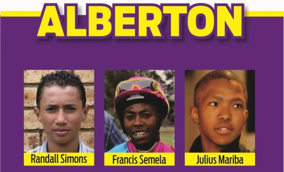 Hollywoodbets Durban July Pre-Party 2016 - Alberton Panel - Randall Simons, Francis Semela, Julius Mariba
