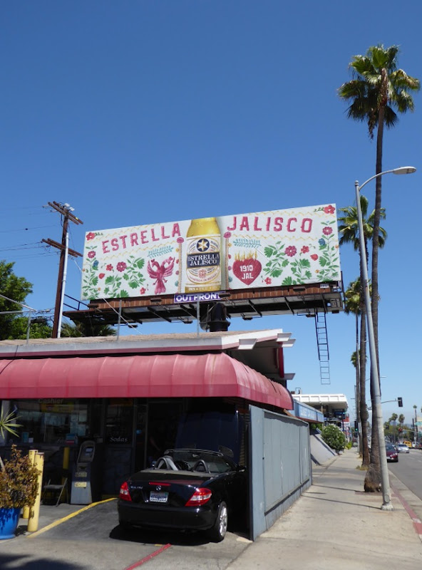 Estrella Jalisco embroidered billboard